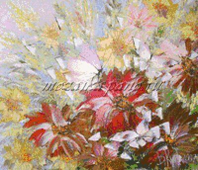 Цветы букетМ1087