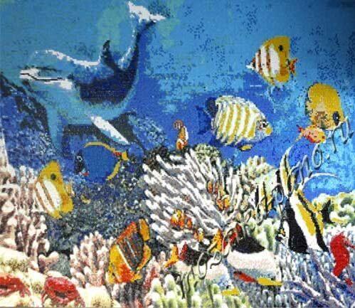 Подводный мир 250х314см